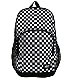 Vans Off The Wall Alumni Pack de 3 mochilas escolares para ordenador portátil (negro/blanco cuadros)