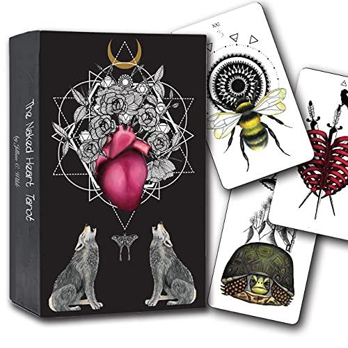 Naked Heart Tarot Deck by Jillian C. Wilde - Black Tarot...