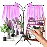 LED Grow Lights for Indoor Plants, Full Spectrum Plant Light with Stand (Adjustable Tripod 15-60inch...