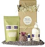 Victoria's Lavender Gift Basket for Women...