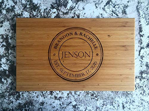 Personalized Wooden Cutting Board for Mom or Grandma (11 x...