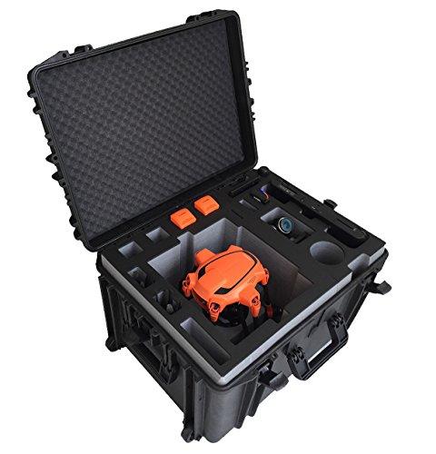 Valigia professional/trolley per il Typhoon H Advanced e Pro con elice e la macchina fotografica montate!