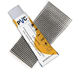 PVC Stitch Glue + Cord | Best Waterproof & UV Resistant Repair Kit for PVC, Vinyl (inflatables Boats Swimming Pools air mattresses Waders) Neoprene (Wetsuits) Polyester (Tents) Cords, Goretex & Other