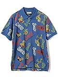 """(ビームスゴルフ)BEAMS GOLF/ポロシャツ SUN SURF×BEAMS GOLF """"Smile"""" ALOHA ポロシャツ メンズ NAVY S"""