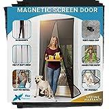 Flux Phenom Reinforced Magnetic Screen Door - Fits Doors up to 38 x 82...