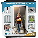 Flux Phenom Reinforced Magnetic Screen Door - Fits Doors up to 38 x 82...