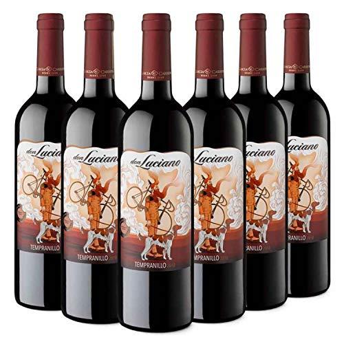 Don Luciano Tempranillo - Vino Tinto D.O. La Mancha - Caja d
