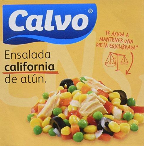 Calvo Ensalada California con Atún - Paquete de 24 x 150 gr