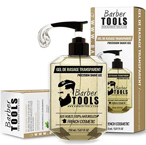 Barber Tools Gel da Barba Trasparente per la Rasatura dei Contorni della Barba, 150 ml