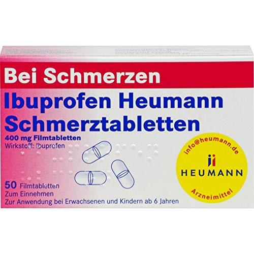 Ibuprofen Heumann Schmerztabletten, 50 St. Tabletten