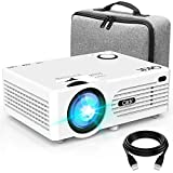 Projecteur AK-80 QKK Supporte 1080P Ful HD, 5000 Lumen Rétroprojecteur, HD Natif 720P Projecteur...