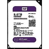 Western Digital WD Purple WD80PUZX Disque Dur pour vidéosurveillance 8 to SATA 6 Go/s 128 Mo Cache 3,5'