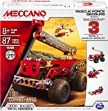 Meccano - 6026714 - Jeu de Construction - Secours 3 Modèles