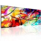 B&D XXL murando Impression sur Toile intissee 120x40 cm 1 Piece Tableau Tableaux...