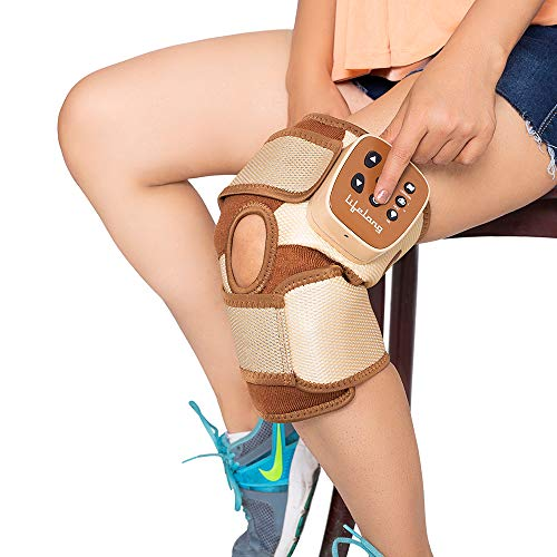 Lifelong Rechargeable Pain Relief Knee Massager for Arthritis and Muscle Pain
