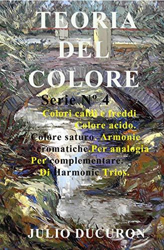 TEORIA DEL COLORE: Colori caldi e freddi. Colore acido. Colore saturo. Armonie cromatiche. Per analogia. Per complementare. Di Harmonic Trios.