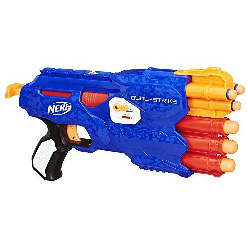 NERF N-Strike Elite Dual-Strike Blaster Toy