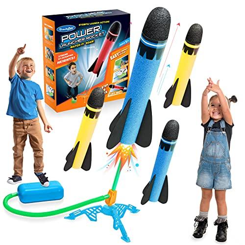 LetS Got! Giochi Bambini 3-9 Anni, Giochi da Giardino per Bambini Razzo Spaziale Giocattolo Giocattoli Bambino 3-9Anni Giochi all Aperto per Bambini Regali Bambina 3-9 Anni Compleanno Bambina