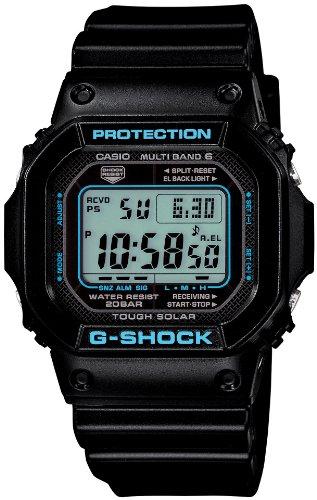 CASIO G-Shock Black X Blue Series (GW-M5610BA-1JF) 6 MULTIBANDS Solar Powered Men's Watch