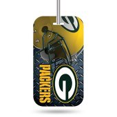 Rico Industries NFL Green Bay Packers Plastic Team Luggage Tag