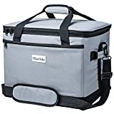 OlarHike 40-Can Large Cooler Bag, Insulated Lunch Box, Grey