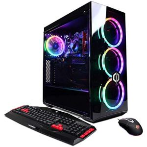 CYBERPOWERPC Gamer Xtreme VR Gaming PC, Intel Core i5-9400F 2.9GHz, NVIDIA GeForce GTX 1660 6GB, 8GB DDR4, 240GB SSD, 1TB HDD, WiFi Ready & Win 10 Home (GXiVR8060A8, Black)