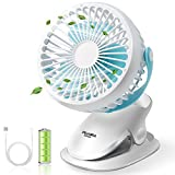PUAIDA Clip on Stroller Fan,...