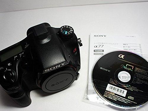 SONY デジタル一眼カメラ α77 ズームレンズキット SLT-A77VQ