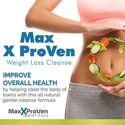 Max X Proven Weight Loss Cleanse - Body Cleanse & Leptin Detox Weight Loss - Help Detox And Cleanse The Gut & Body To Support Improved Health & Weight Loss - Max X Proven Diet PIlls 8
