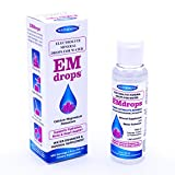 Electrolyte Drops for Water, 600 Servings! Hydration Supplement EMDROPS Helps Keto Fasting, Leg Cramps, Heart Health. Calcium Magnesium Potassium (Not Trace Minerals) Liquid Electrolytes No Sugar 2oz
