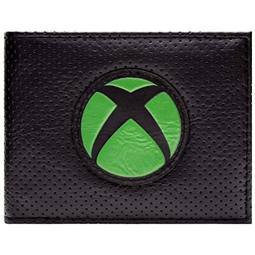 Xbox Logo Portemonnaie Geldbörse Schwarz