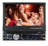 XO Vision X358 7' in-Dash Touch Screen DVD Receiver with Front USB & AV Inputs