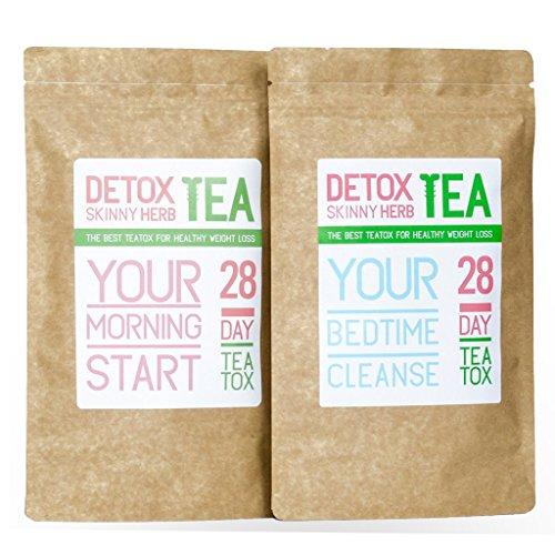 28 Days Teatox: Detox Skinny Herb Tea - Effective Detox Tea, Only Natural and Organic Ingredients, Full Body Cleanse, Teatox 1