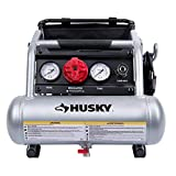 Husky 1 Gal. Portable Electric-Powered Silent Air Compressor