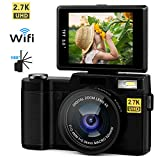 Kids Waterproof Camera 21MP HD 1080P Video Recorder Camcorder Waterproof Digital Camera for Children 2.0' LCD Display 8X Digital Zoom Floating Wrist Strap 32GB SD Card Underwater Camera for Snorkeling