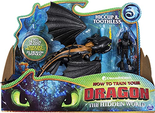 DreamWorks Dragons, Toothless and Hiccup, Dragon with...