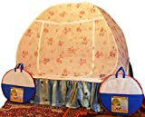 Healthy Sleeping Foldable Polyester Double Bed Mosquito Net (White)