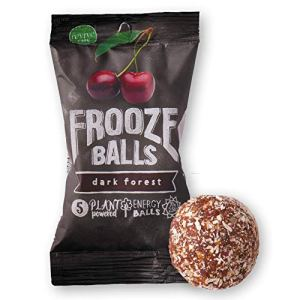 Frooze Balls Plant Protein Powered Vegan Snack Energy Balls, Classic Variety Pack Gift Box (Pack of 6) Each Pack Has 5… 23