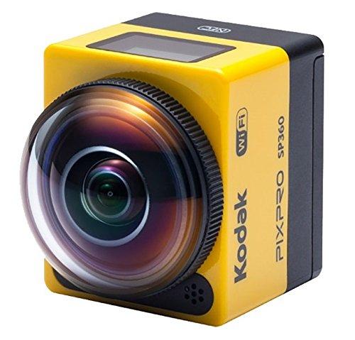 Kodak PixPro SP360 Explorer Pack fotocamera per sport d'azione Full HD CMOS 17,52 MP 25,4/2,33 mm (1/2.33') Wi-Fi 103 g