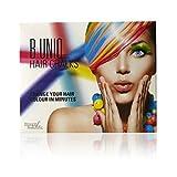 Tizas de colores para el pelo de B Uniq, ideal para Halloween, disfraces de fantasía o para...