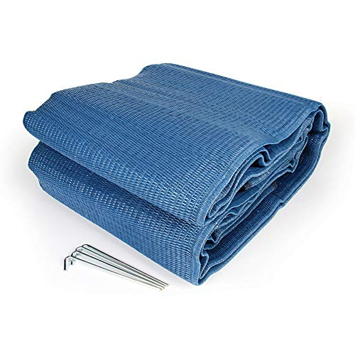 Camco Durable Reversible RV Camper Awning Mat- Mildew and Rust...