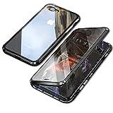 【YMXPY】表面強化ガラス+背面強化ガラス iPhone7plus iPhone8plus ケース ガラス アルミバン……