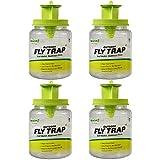 RESCUE! Outdoor Fly Trap - Reusable - 4 Traps