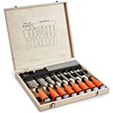 VonHaus 10 pc Premium Chisel Set...