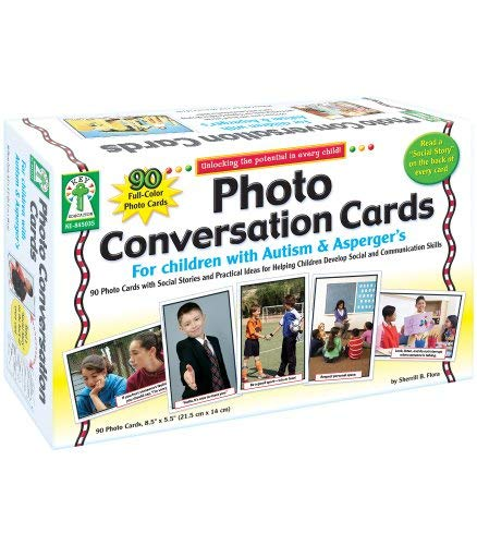 Photo Conversation Cards for Children with Autism and...