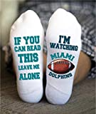 Miami Men's Socks Birthday Funny Gift American Football Game