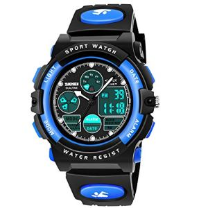 ATOPDREAM Boys Girls Digital Watches Kids Toys Waterproof Watch for 3-12 Yr Old Teens Sports Outdoor Watches for Toddlers Best Gifts for Birthday Home Christmas Party