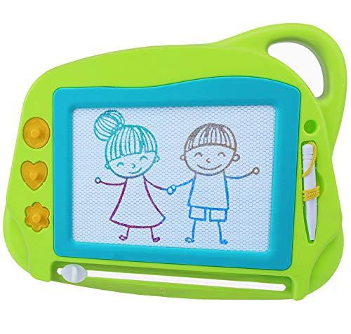 AiTuiTui Lavagna Magnetica per Bambini, 4 Colori Colorati Lavagnetta Magica Portatile Cancellabile...