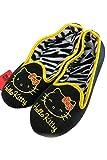 ScarvesMe Licensed Hello Kitty Zebra Interior Fleece Slipper (S (5-6))