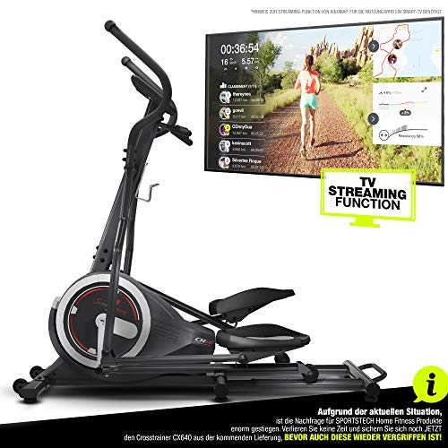 Sportstech CX640 elliptical cross trainer